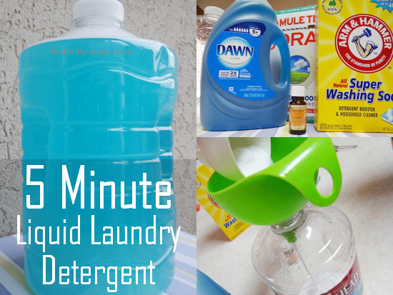 How to make DIY laundry detergent